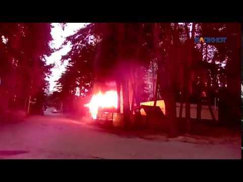 Коминтерновском районе Воронежа сгорело кафе «Султан»