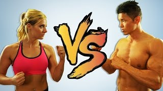 EPIC CROSSFIT BATTLE | THE BURPEE QUEEN  VS. HENRY TRAN