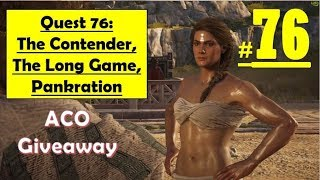 Assassins Creed Odyssey - The Contender, The Long Game, Pankration