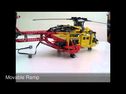 review of the lego technic 9396 helicopter youtube. Black Bedroom Furniture Sets. Home Design Ideas