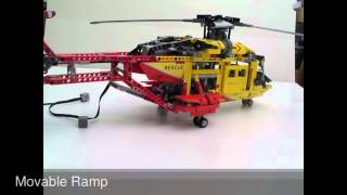Review Of The LEGO Technic 9396 Helicopter