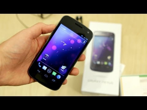 Samsung Galaxy Nexus Unboxing