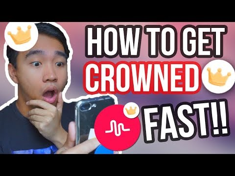 HOW TO GET A CROWN ON MUSICAL.LY! FAST & EASY 2017!