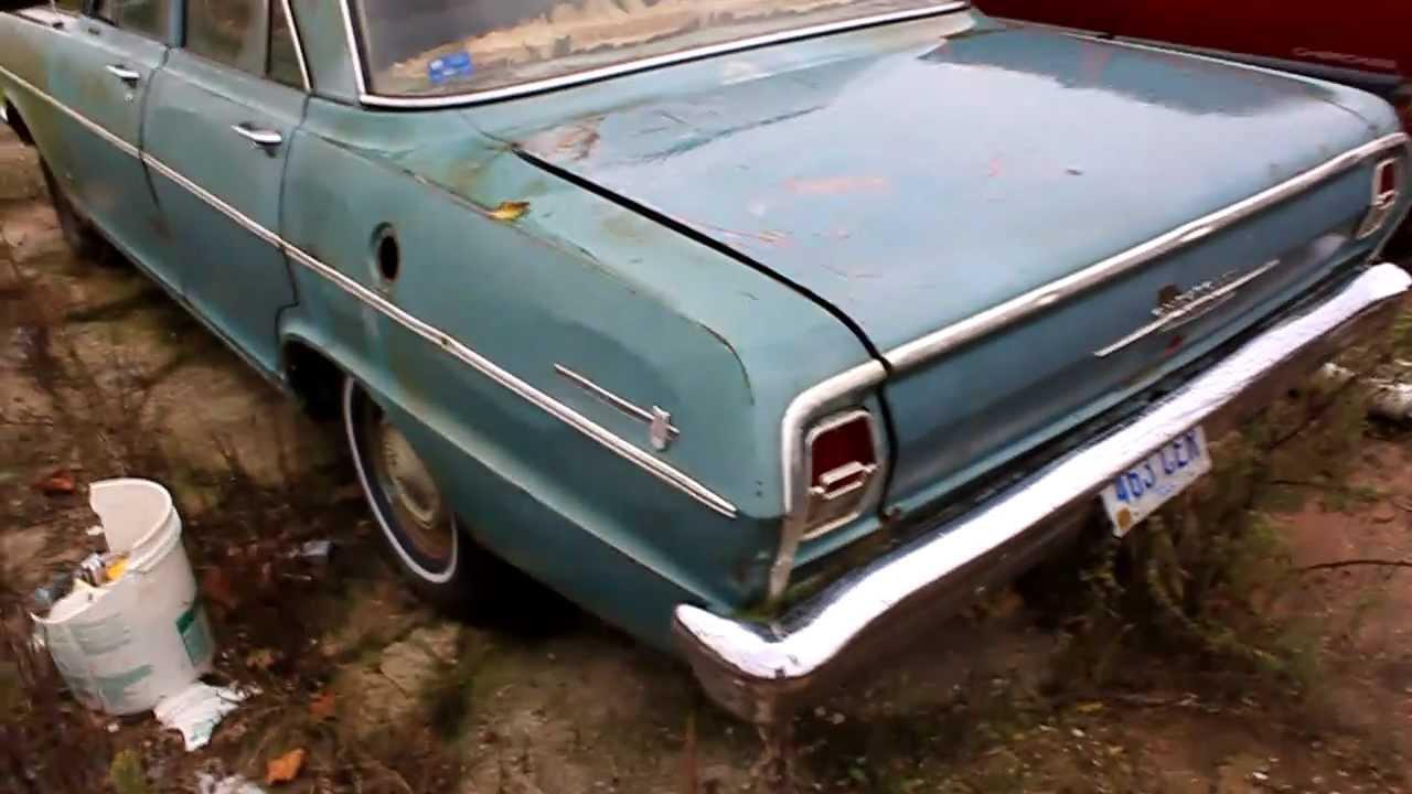 All Chevy 64 chevy ii : Chevy II Nova 4-Door Project / Rat Rod Project - YouTube