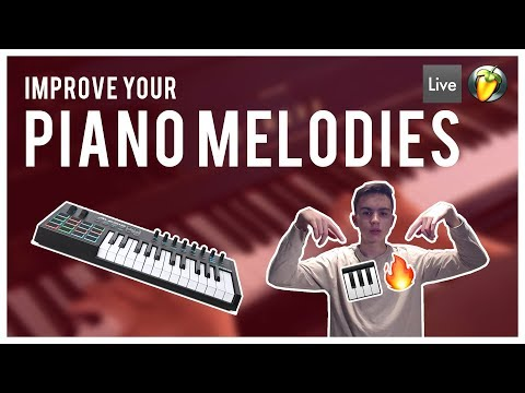 Take Your Piano Melodies To The Next Level