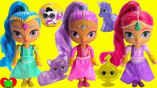 Shimmer and Shine Sparkle Genie Afina and Glittercorn Gleam Unicorn thumbnail