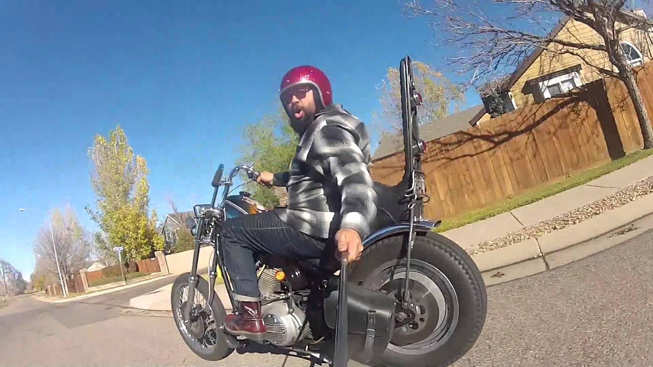99 Sportster Chopper Youtube