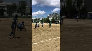 大阪中学校ラグビー 茨田北🆚相生                未来の日本代表のキッカーになっほしい🏉