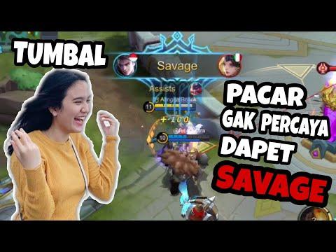 DAPET SAVAGE BERKAT PACAR PURA2 AFK !!! - Mobile Legend Indonesia