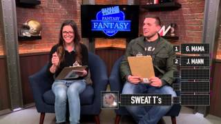 Chris DiStefano and Katie Nolan Draft Fantasy Fantasy Basketball Teams