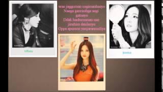 Oppa Nappa Lyrics Jessica Tiffany and Seohyun