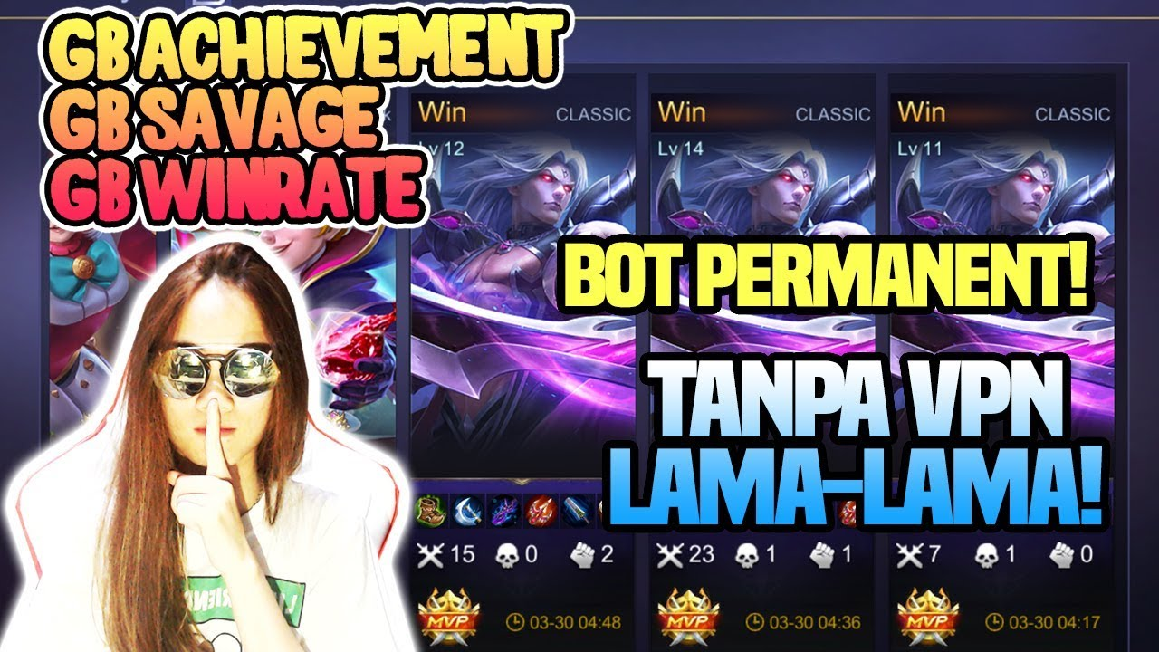ADA GIVEAWAY WKWKWKWKWK! ADA TUTORIAL BOT TANPA VPN LAMA LAMA- Mobile  Legends Indonesia