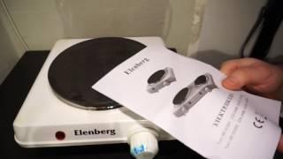 Электрическая плита Elenberg HP-D2001 обзор