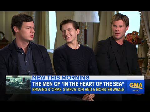 Inside Ron Howard's 'In The Heart Of The Sea'