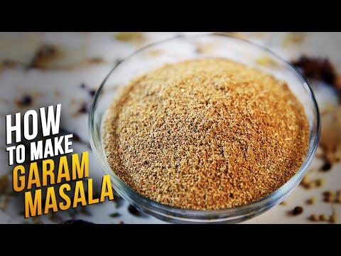 How To Make Garam Masala   Homemade Garam Masala Recipe By Smita Deo   Basic Cooking