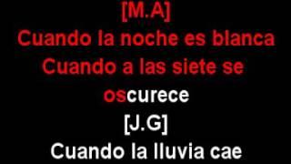 YO TE RECUERDO   Juan G  ft Marc A vercion 2 power karaoke