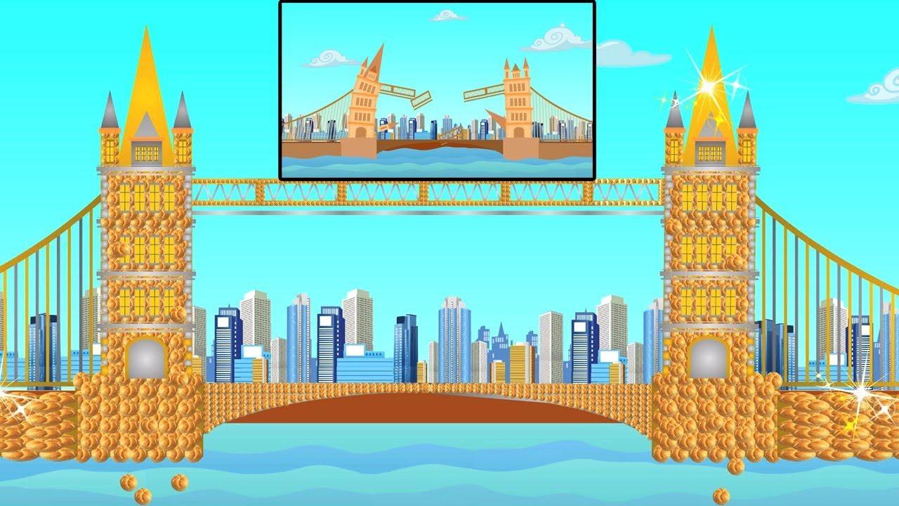 Le Pont De Londres S Effondre Comptines Pour Enfants Comptines Francaises London Bridge