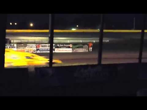 Jordan Foster's win at Casino Speedway 8/3/14