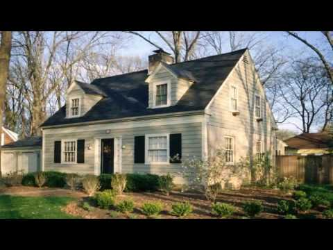 Cape Cod Style House Landscaping