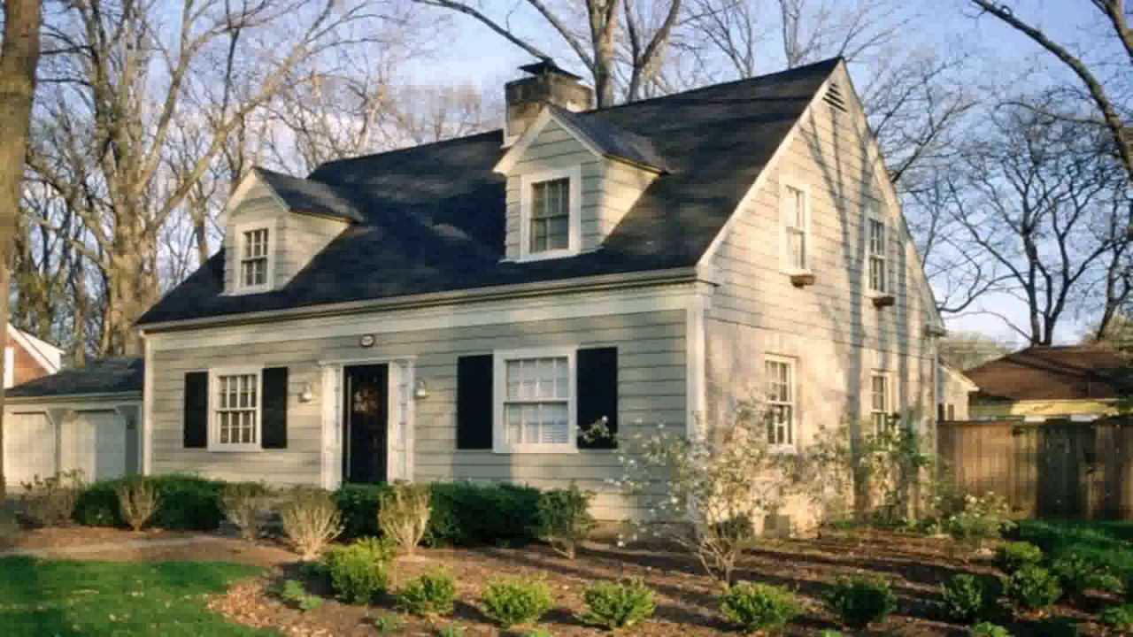 Cape cod style house landscaping youtube - Cape cod style homes ...