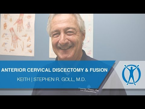 Anterior Cervical Discectomy and Fusion Surgery | Patient Testimonial