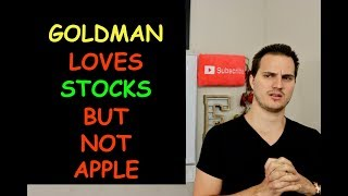 GOLDMAN SAY STOCKS HAVE BOTTOMED & WORRY ABOUT APPLE IN CHINA