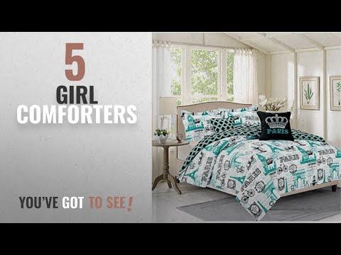 Top 10 Girl Comforters 2018: Bedding Twin 4 Piece Girls