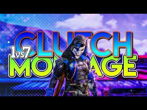 1vs7-clutch-compailation-#6- -aim-assist-off- -pubg-mobile-montage- -four-finger-gameplay