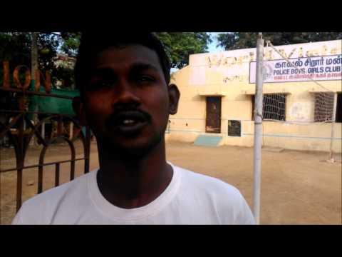 Tamizh Azhagan, Resident, Kannagi Nagar Slum