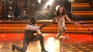 Keyshawn Johnson and Sharna Burgess Booted from 'Dancing With the Stars'