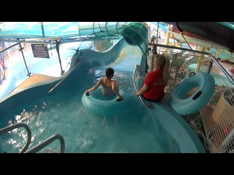 The Scary Nucleus Water Slide at Water World