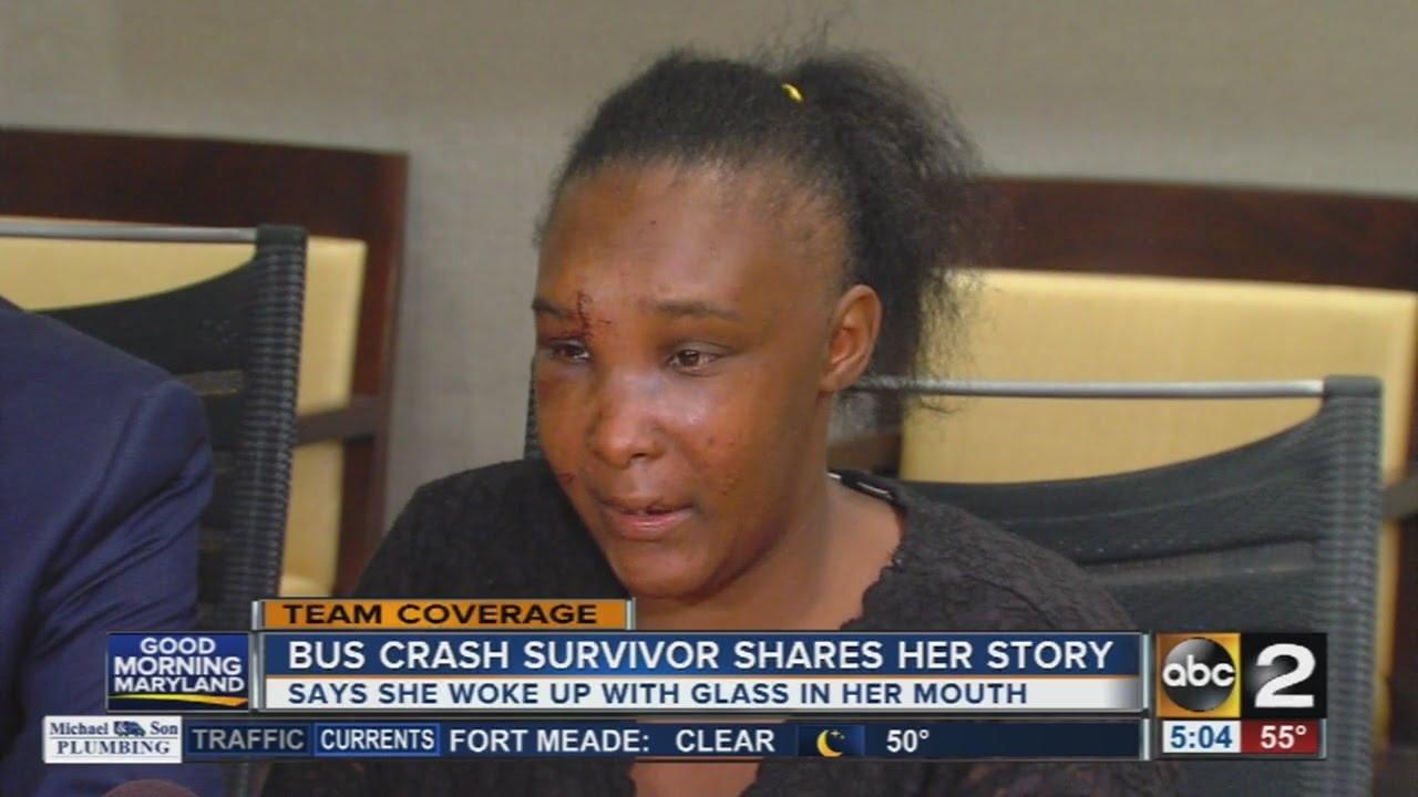 Frederick Avenue bus crash survivor shares her story