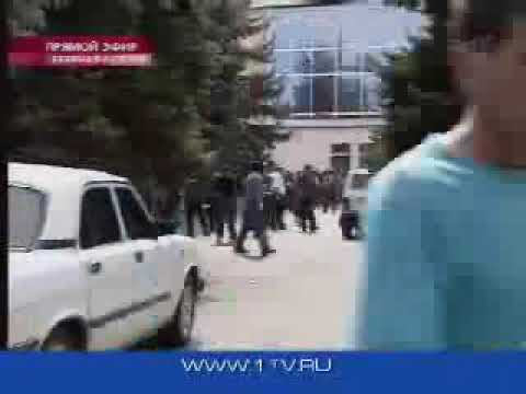 Новости, экстренный выпуск, штурм в Беслане в прямом эфире (Первый канал, 03.09.2004)