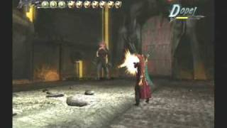 Devil May Cry 3 Special Edition ベオウルフ戦で下手なことを示す