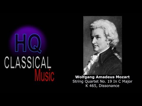 MOZART - (FULL) String Quartet No.19 in C Major, K465 Dissonance - HQ Complete Classical Music