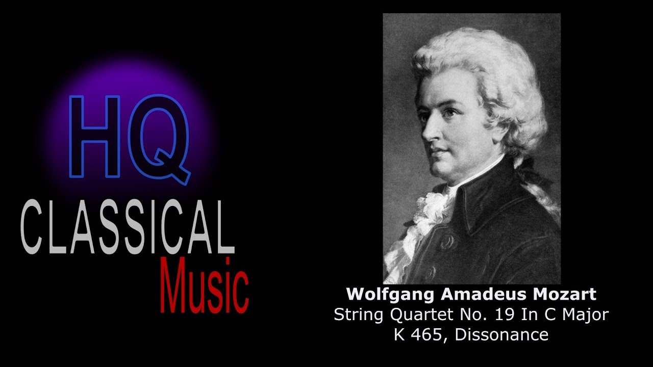 MOZART - (FULL) String Quartet No 19 in C Major, K465