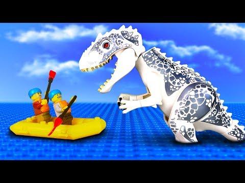 Лего охотники на динозавров мультфильм
