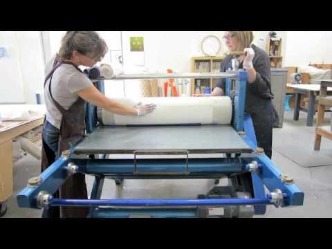 Tauba Auerbach at Paulson Bott Press 2012