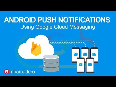 Android Push Notifications using Google Cloud Messaging (GCM)