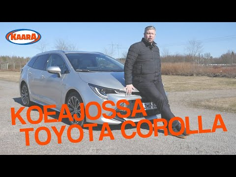 Koeajossa Toyota Corolla Touring Sports Hybrid 2019