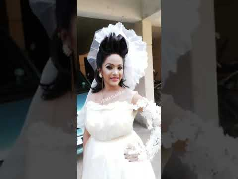 western bridal Make-up n hair
