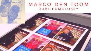 Jubileumglossy MARCO DEN TOOM 25 jaar organist - 2019