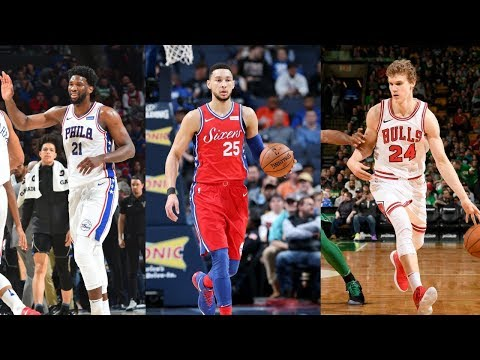 Joel Embiid, Lauri Markkanen, & Ben Simmons Headline World Team | Rising Stars 2018