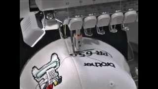 видео вышивка на бейсболках