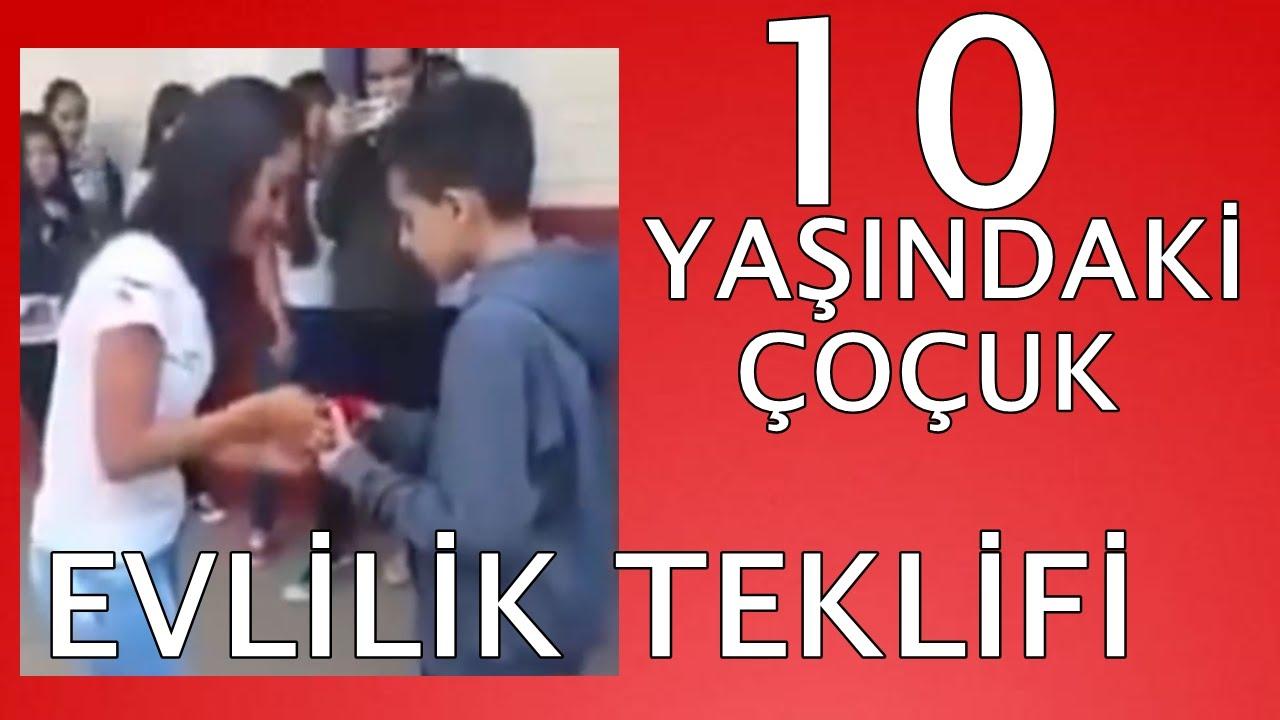 10 Yaşındaki çoçuk evlilik teklifi yaptı(ŞOKŞOKŞOK) | TREND VİDEOLAR