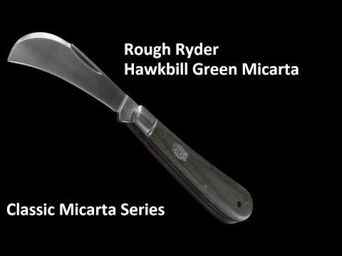 ROUGH RYDER CLASSIC MICARTA HAWKBILL