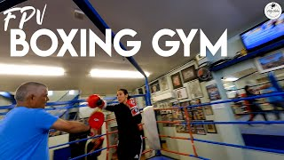 Boxing Gym Tour with an FPV Drone