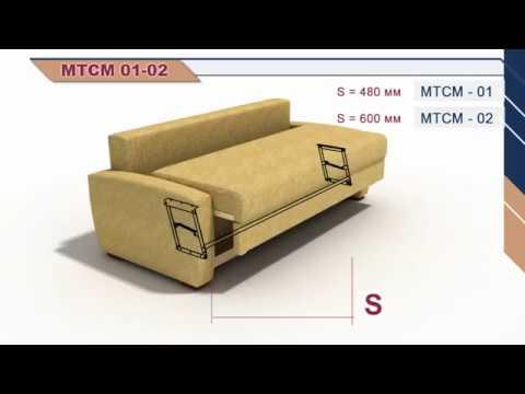 Как установить механизм тик так на диван