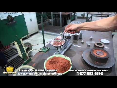 HOW IT'S MADE | Diamond Grinding Cup Wheel