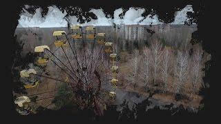 Ексклюзивні кадри  Парк атракціонів у Прип'яті з дрону
